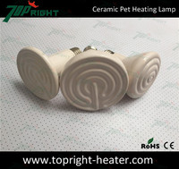 Far infrared ray ceramic heater heat lamps for dogs houses