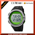 Fintess Finger touch 3D pedometer watch with pulse 2 in 1 model