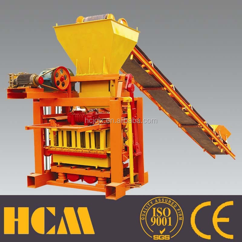 small industry machinery QTJ4-35B2 used concrete block making machine