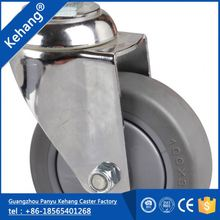Guangzhou Wearable Long Working Life made in China polyurethane fixed bronze casters