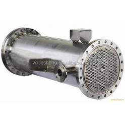 Titanium/stainless steel /carbon steel shell tube heat exchanger