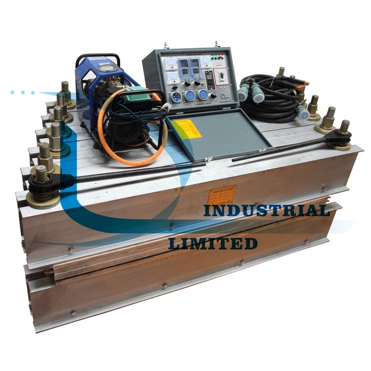 Rubber band vulcanizing machine