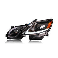 Black Housing Headlight for Lexus GS300 GS350 GS430 GS450 LED Head Lamps with Projector Lens