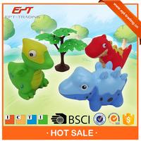 Buy plastic animal toys assembly dinosaur world toys play set for ...