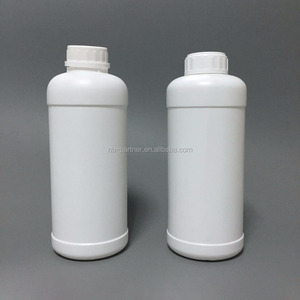 1L HDPE plastic bottle for agricultural pesticide packing with cap