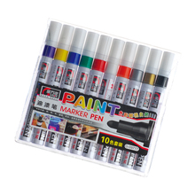 10 colors paint marker pen