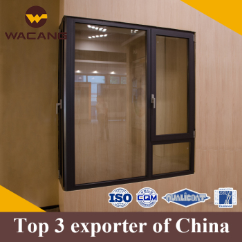 Customized thermal break secure aluminium window foshan