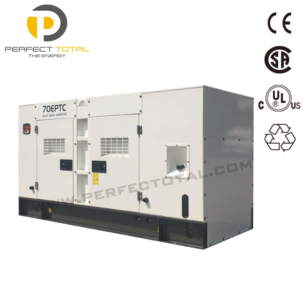 CE approved water cooled open / silent diesel generator