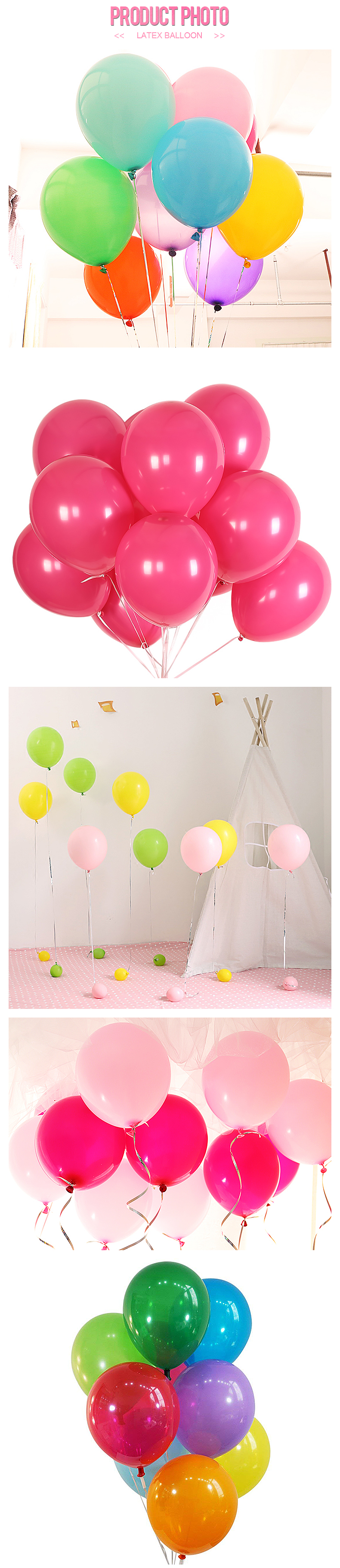 Hot sale helium 12inch 3.2g party standard round latex balloon