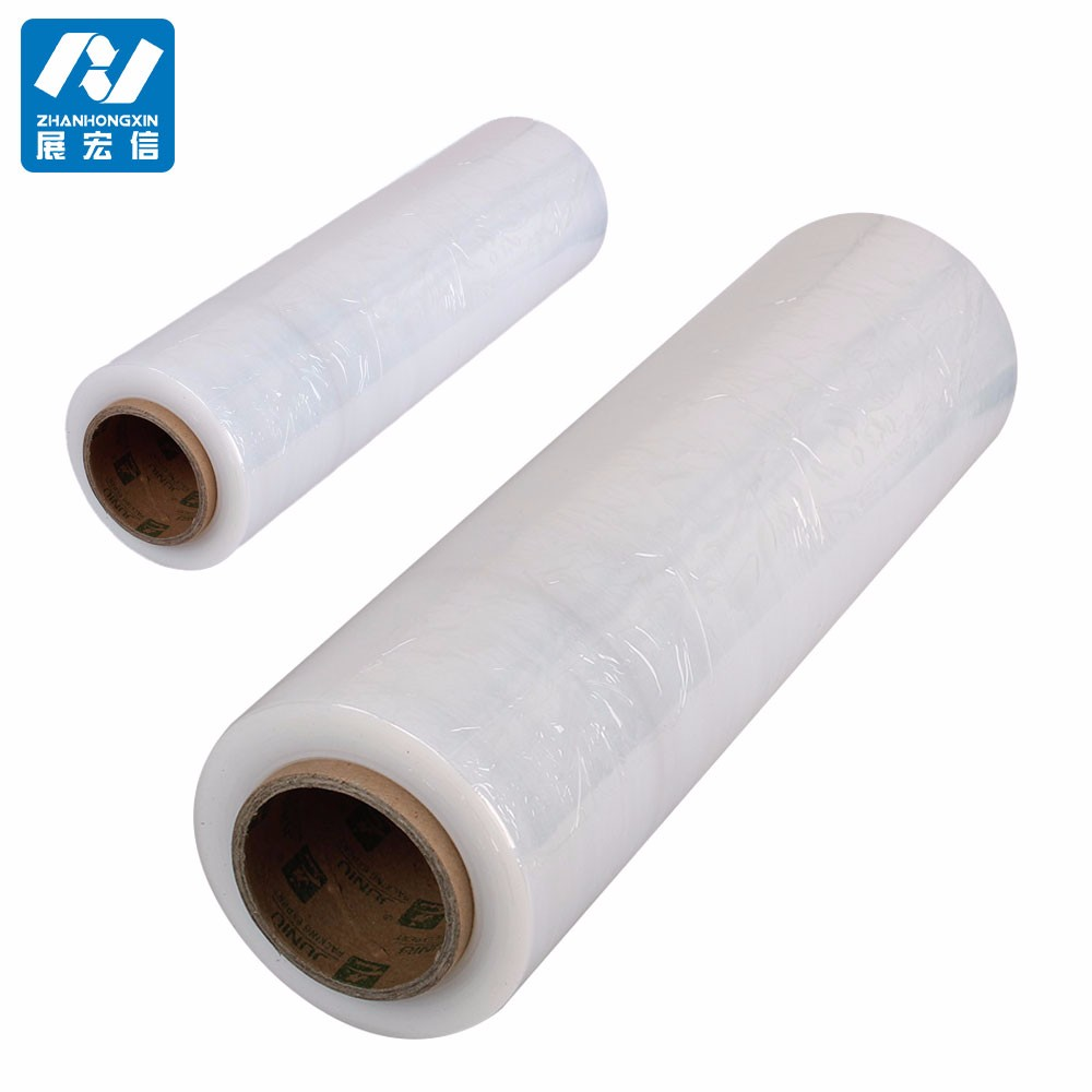 pallet roll stretch film LLDPE stretch film roll hot cake in USA