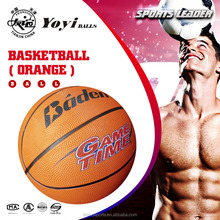 promotion gift factory manufacturer color orange basketball