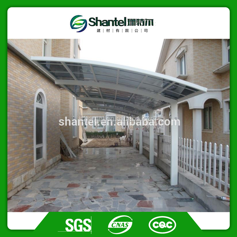 Aluminium Garage Aluminium Carport Polycarbonate Car Shed