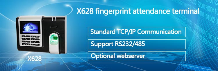 HF-X628 Cheap Price Biometric Fingerprint Time Attendance