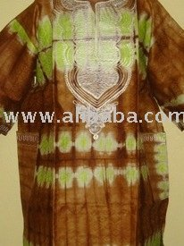 Authentic Hand-Made Dashiki Shirts