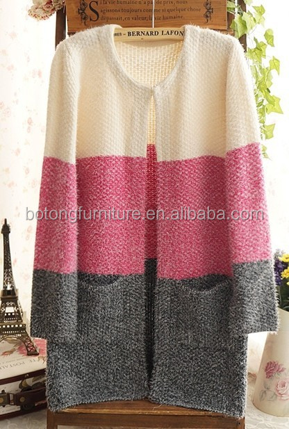 Knitted sweater Women cardigan