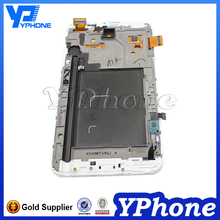 Wholesale parts for samsung galaxy note 10.1 2014 edition p600 lcd touch screen with full digitizer