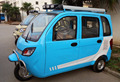 NEW electric rickshaw/tuk tuk/three wheeled vehicles/cyclomotor/fully enclosed tricycles for adault 21000036