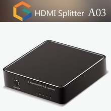 high quality V2.0 HDMI Splitter 2 port 1x2 bluetooth hdmi video transmitter support 4kx2K@60Hz for home theater system
