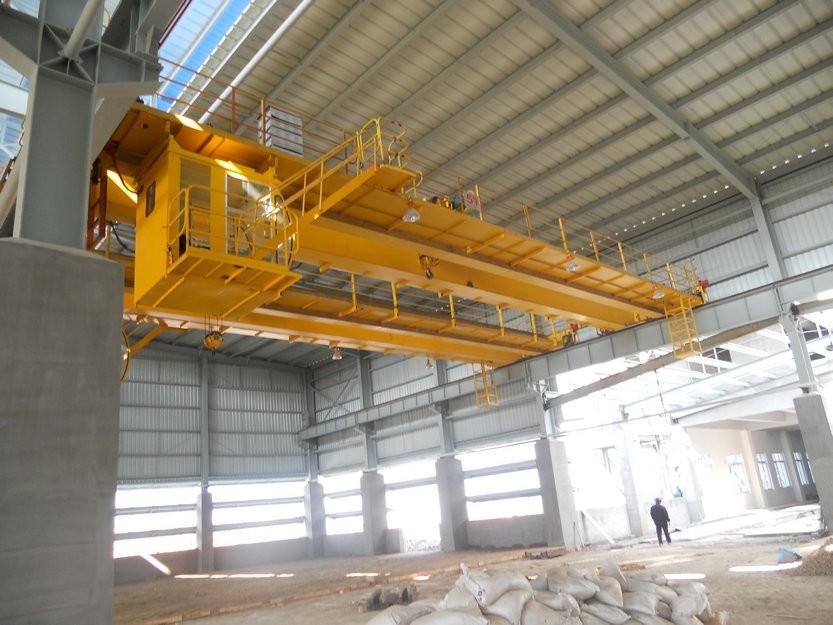 Overhead Crane Beam Design : Heavy equipment t double girder bridge crane for factory