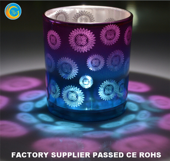Trade Assurance TOP1 Glass candle holder factory supplier yufengcraft Quality Assured