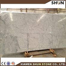 Bianco Carrara Venato slabs and tiles/Italy marble price /Nature white marble