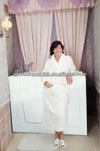 Big safety bathtub/walk in bathtub for disabled people CWB3555