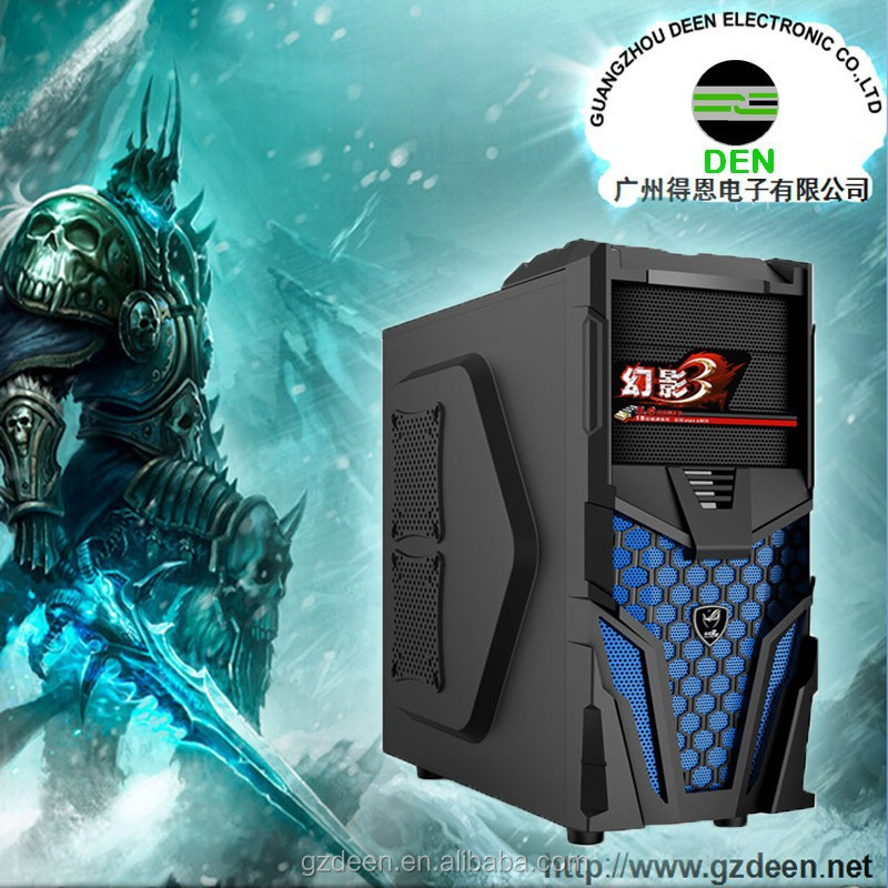 deluxe vertical atx pc computer case