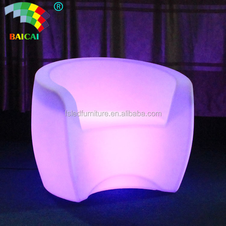 Modern Design Bar Sofa Chair Outdoor/Color Changing Led Chair Party Living Room Sofa Comfortable LED Furniture With New Design