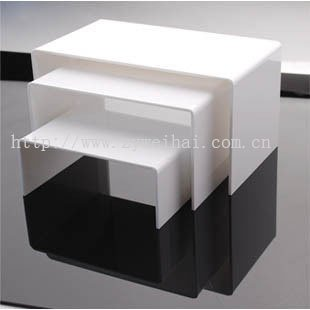 acrylic plate display stand