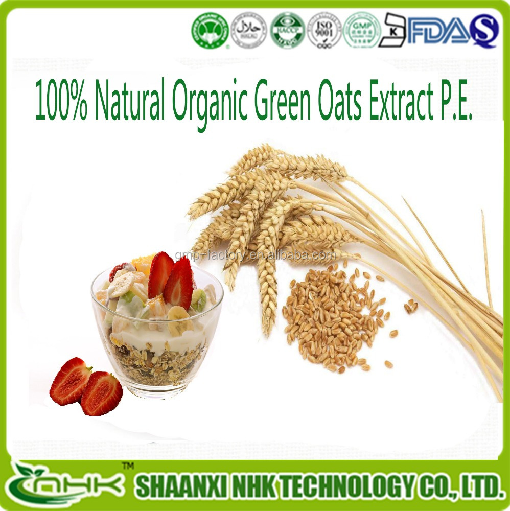 100% natural Oats Grass powder /Avena sativa Extract for Men Health