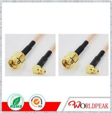 RF COAXIAL CONNECTOR SMA Male type for Double shielded cable RG316D sma connector
