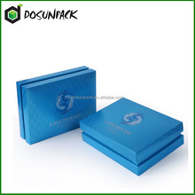2016 Cardboard rigid paper cosmetics gift set packaging box
