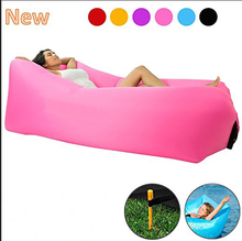 Lazy Air Bed Camping Lounger Sofa Inflatable Sleeping Bag Beach Hangout Chair