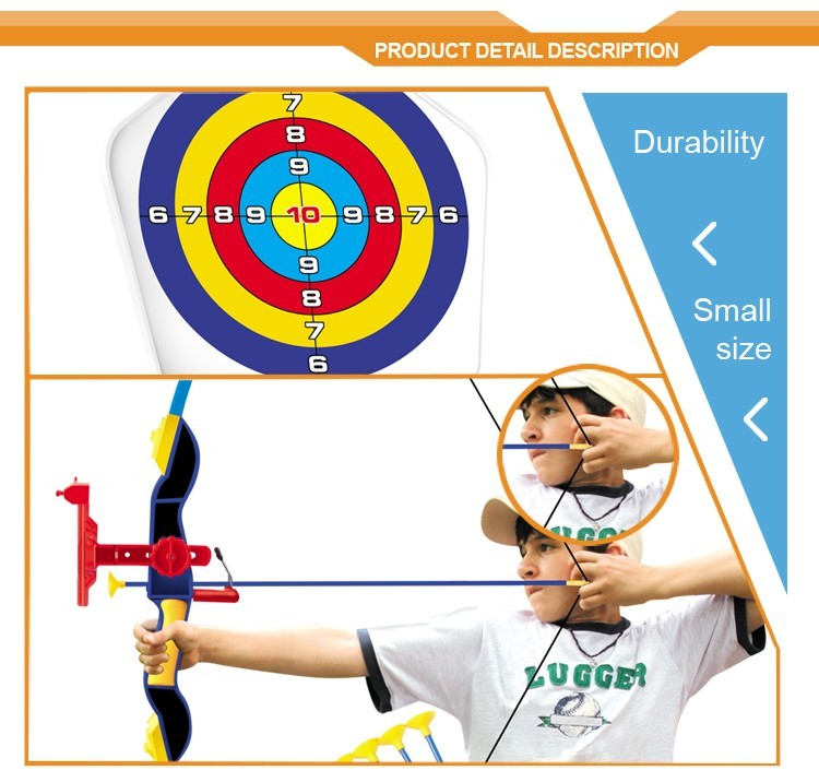 Hot sale wholesale outdoor bow and arrow child toy