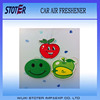 China factory custom scents hanging paper car air freshener