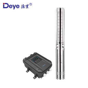 DC 48V Solar Water Pump 750W 100% solar powered deep well water pump submersible water pump