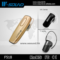 F518 In-ear Portable Wireless Bluetooth Stereo Earphones W-sound Factory China Wholesale