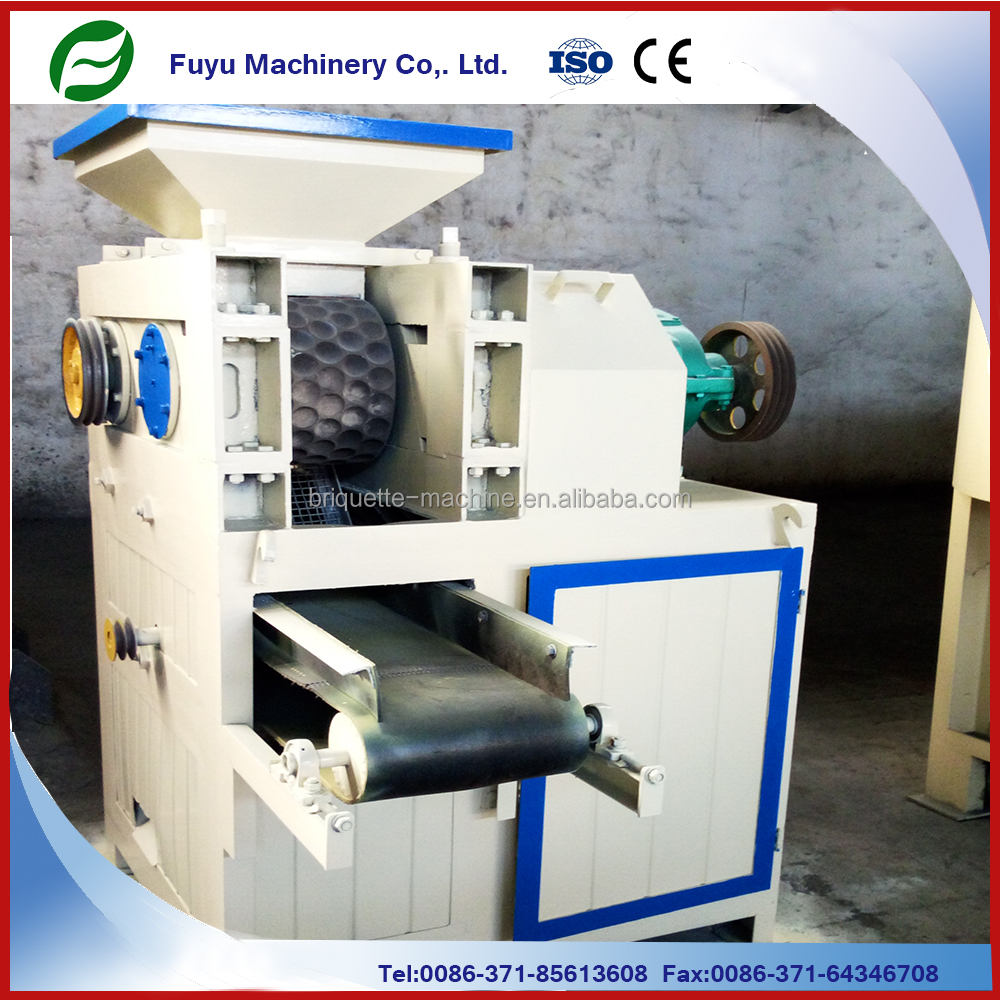Small type 4 t/h coke and charcoal powder briquette making machine