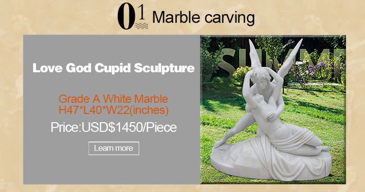 Life Size Marble warrior head bust statue