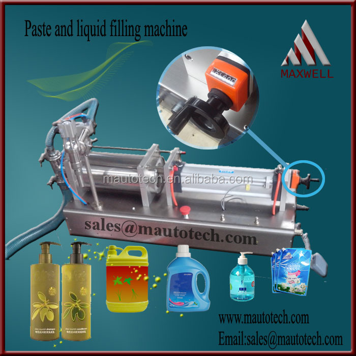 High quality double nozzle filling machine (CE certification)