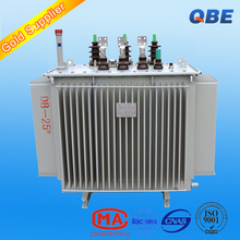 step down high voltage oil-immersed copper winding 11kv/0.4kv step-up power transformer