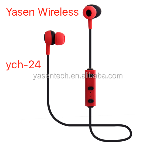 ych-24 CRS4.0 Sports Stereo headset wireless bluetooth Mini Earbuds Hand Free Headphone for ios and android