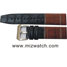High Quality Quick Release Nubuck Genuine Leather Watch Band Removable