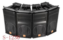 S-1230 nexo 12 inch power neodymium line array sound system speaker with accessories/bracket/rigging from guangzhou