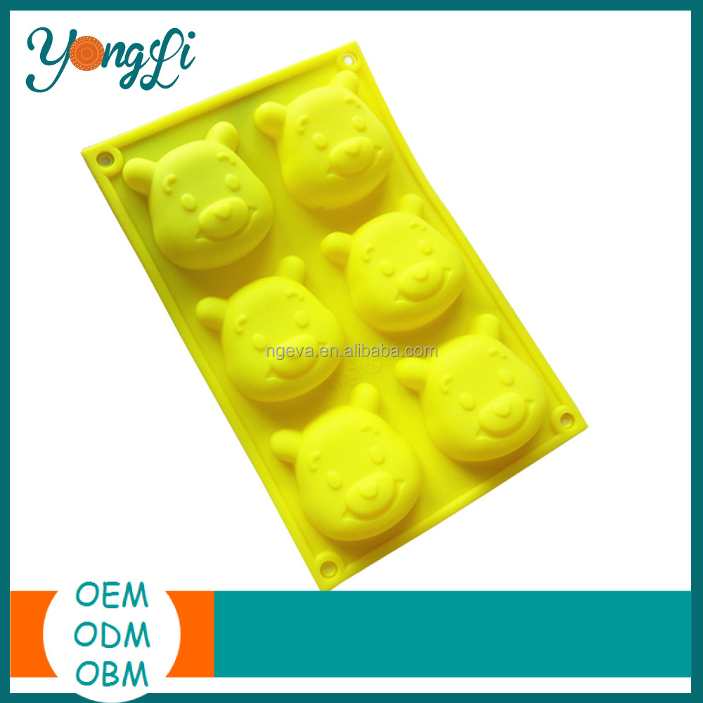 Microwave Baking Moul/Pan Silicone Mould For Plaster