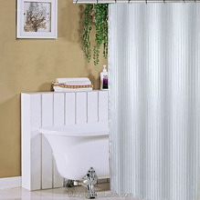 Good Quality Mildew Resistant Fabric Shower Curtain Liner