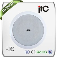 Long functional life pa system surround sound ceiling speaker system