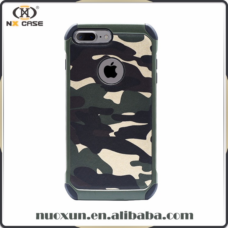 2017 army design shockproof phone case for iphone 7 national