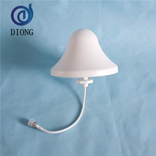 Circular cap shaped suction head omni directional antenna Mobile enhanced ceiling antenna