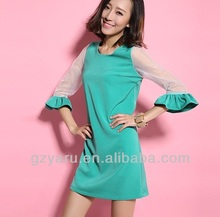 guangzhou clothes factory manufacturer 100% rayon blouse